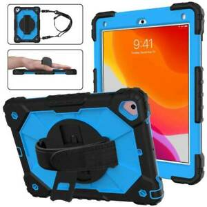 """Hybrid Stand Shockproof Case Cover Strap For iPad 5th 6th 7th 8th Gen Air2 10.2"""""""