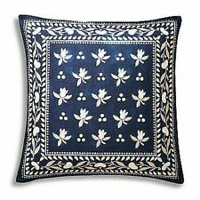 RALPH LAUREN JUDD BLUE SCARF THROW PILLOW 20 X 20 NEW