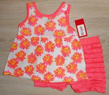 Baby Mädchen 💕 Sommer Kleid 💕 Set 2tlg mit Hose 💕 SONNENBLUMEN 💕 NEU