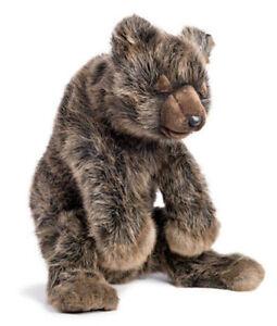 Hansa Brown Bear Sleeping [40cm] Soft Plush Stuffed Animal Realistic Toy NEW