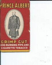 AC-002 - Five Prince Albert Cigarette Rolling Paper Wrappers Antique Vintage