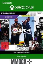 UFC 4 - Xbox One Kampfspiel - 2020 Download Key Game Code Action Sport [DE/EU]
