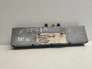 BMW Z4 Roadster E85 Antenna Aerial Amplifier Module Genuine 6912817