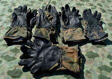 5x Original BW Handschuhe, Bundeswehr Kampf Handschuhe, flecktarn