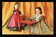 Dolls postcard Mme Alexander ca 1952 Named Meg Marme Little Women Series Calico