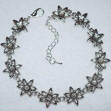 Gorgeous Large Flowers Boho Chain Link Summer BOHO Anklet / Ankle Bracelet Gift