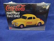 1940 FORD COCA COLA (AMT-ERTL #H823-10DO) 1/25 Scale Model Kit Sealed Pkg