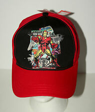 Marvel Comics The Invinsible Iron Man Comic Book Kids Cap Hat New Tags NOS