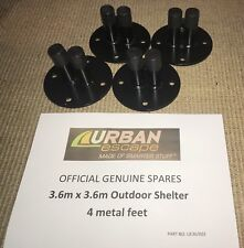 Genuine Urban Escape Shelter 3.6m  Replacement Spare New Set of Four Feet