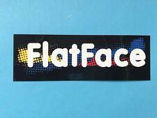 """RARE Vintage Tech Deck """"Flat Face """"Sticker New"""
