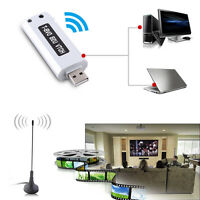 USB2.0 Digital DVB-T SDR+DAB+FM HDTV Tuner Receiver Stick Antenna RTL2832U+R820T