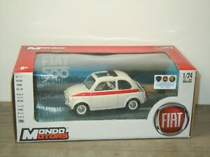 Fiat 500 - Mondo Motors 1:24 in Box *49615