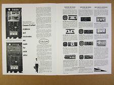 1964 Cessna-Crafted Electronics NAV/COM Nav-O-Matic Autopilot vintage print Ad