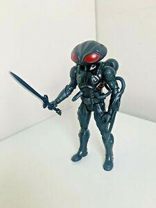 "DC Comics Aquaman Movie Black Manta 6"" Action Figure With Dark Power Sword Toy"