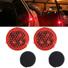 2 x Universal Warning Light Led Car Door Opened Flash Kit Wireless Anti-collid