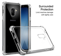 Luxury Armor Shockproof Bumper Clear Case Cover for Samsung Galaxy S8