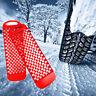 2pcs Anfahrhilfe Antirutschmatte Traktionshilfe Schneematten Sandblech Sandmatte