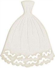 """Quickutz/Lifestyle Crafts C-0058-S-REV  """"Wedding Dress""""  4x4"""" Die DISCONTINUED"""