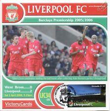 Liverpool 2005-06 WBA West Brom (Djibril Cisse) Football Stamp Victory Card #534