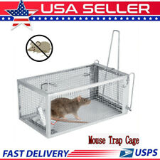 Rat Trap Cage SmallLive Animal Pest Rodent Mouse Control Bait Catch10.3x5.5x4.5""