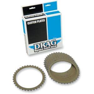 Drag Specialties Performance Aramid Fiber Clutch Plate Kit 91-19 Harley XL Buell