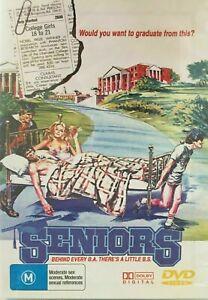 SENIORS DVD 1978 Dennis Quaid Jeffrey Byron, Gary Imhoff - Vintage Comedy Movie