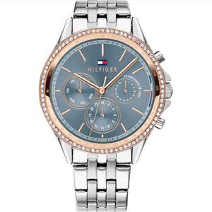 Tommy Hilfiger Women's Blue Dial Stainless-Steel Bracelet Watch 1781976 RRP £150