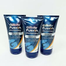 3 - Gillette Fusion ProSeries Sensitive Face Wash 5 oz. Softens Facial Hair NEW