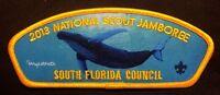 SOUTH FLORIDA COUNCIL OA O-SHOT-CAW LODGE 265 2013 BSA JAMBOREE WYLAND WHALE JSP