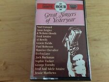 AN HOUR OF GREAT SINGERS OF YESTERYEAR MUSIC CASSETTE ALBUM EMI VARIOUS ARTISTES