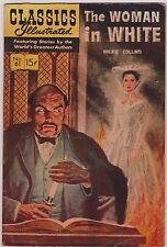 CLASSICS ILLUSTRATED #61 THE WOMAN IN WHITE by WILKIE COLINS 1949 -  FINE