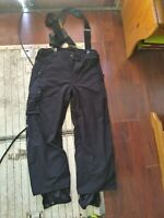 Mens Columbia Convert Snow Pants With Suspenders Large Excellent Condition