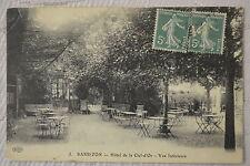 """CPA """" BARBIZON - Hôtel de la Clef-d'Or - Vue Intérieure"""