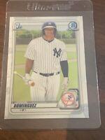 JASSON DOMINGUEZ 2020 Bowman CHROME Prospect Card NY Yankees #BCP-8 Mega Box
