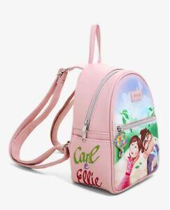Loungefly Disney Pixar Up Carl & Ellie Mini Backpack - New