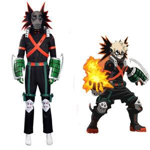 My Hero Academia S5 Bakugou Katsuki Cosplay Costume Battle Outfits
