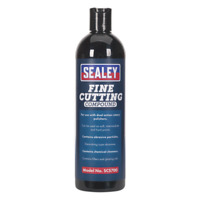 SCS700 Sealey Cutting Compound Fine 500ml [Compound & Polish] [Consumables]