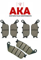 Complete Set of Front and Rear Brake Pads Honda CB600F CB600 Hornet 1998-06