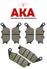 Complete Set of Front and Rear Brake Pads for: Honda CB600F CB600 Hornet 1998-06