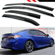 FOR 2018-2020 TOYOTA CAMRY LE SE XLE XSE WAVY  WINDOW VISOR RAIN GUARD DEFLECTOR