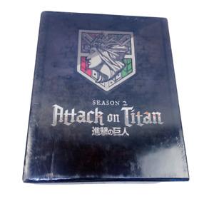 Attack on Titan Season 2 Blu-ray DVD Box Set | Region A | Sealed | English Subs
