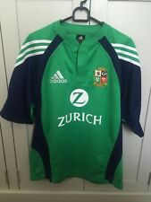 ADIDAS NEW ZEALAND LIONS GREEN & NAVY (TRAINING) JERSEY 2005 TOUR - Adult Small