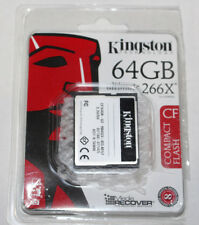Kingston Technology 64GB Ultimate 266X CF Compact Flash Drive 3.3V/5V