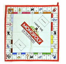 Gift Republic Monopoly Gameboard Tea Towel