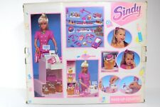 VINTAGE RARE SINDY 1991 MAKE UP COUNTER HASBRO WITH OVER 60 ACCESSORIES