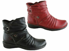 Zip Leather Comfort Casual Shoes for Women