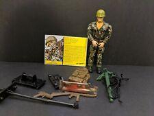 GI Joe Sgt. Savage Jungle Camo D-Day Figure Loose 1994 complete with face paint
