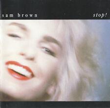 Sam Brown CD Stop! - Europe (EX+/EX+)