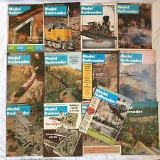 1966 MODEL RAILROADER Magazine Complete Year 12 issues + 1 1984