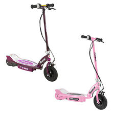 Razor Electric Rechargeable Motorized Ride On Kids Scooters, 1 Pink & 1 Purple